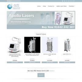 Apollo Lasers Website