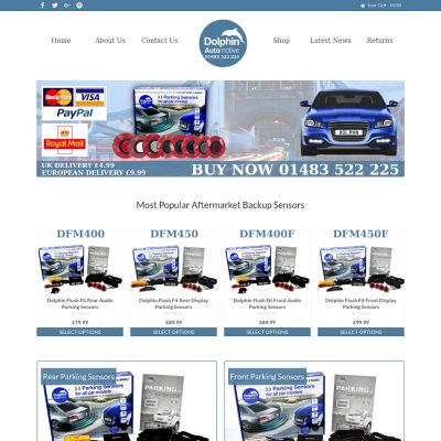Flush Mount Parking Sensors Website